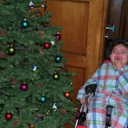 Marius et son fauteuil pour Noël