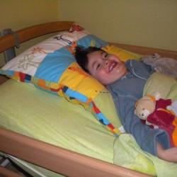 Marius dans son lit