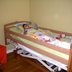 Le lit médicalisé de Marius