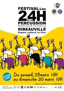 festival 24h de la percussion à Ribeauvillé